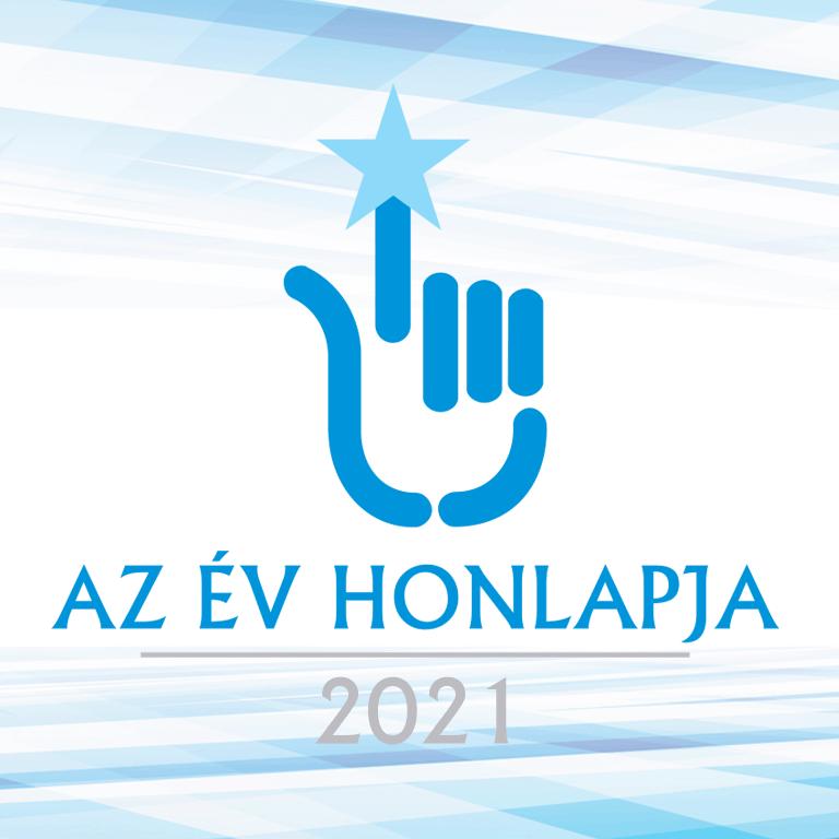 AZ ÉV HONLAPJA 2021 Közönségdíj